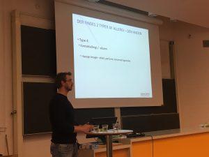 Undervisning af GF1-elever fra Syddansk Erhvervsskole (Odense-Vejle)